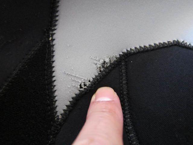 マキシム ウエット スーツ 中古 美品 メンズ 男性 L シーガル 日本製 ノンジップ ウエットスーツ maxim wet_画像8