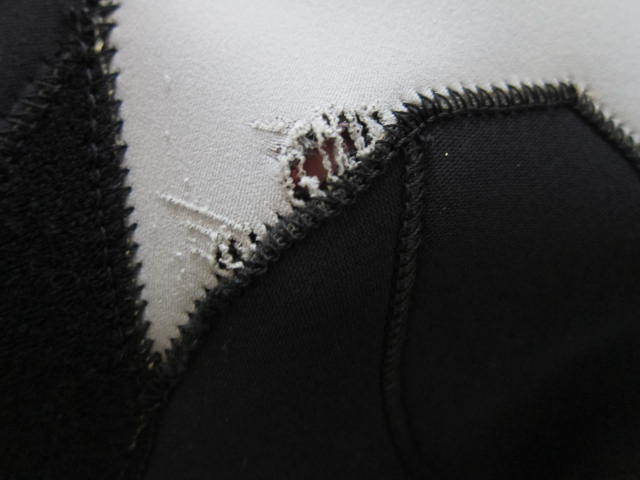 マキシム ウエット スーツ 中古 美品 メンズ 男性 L シーガル 日本製 ノンジップ ウエットスーツ maxim wet_画像9