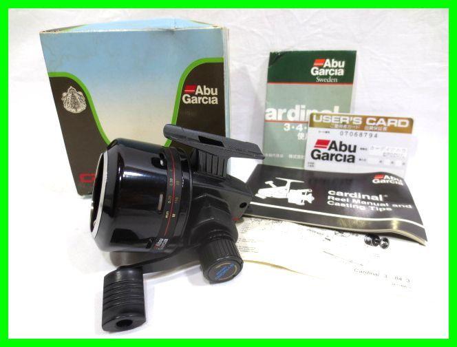 Abu Garcia black MAX SYNCRO ULTRA CAST DESIGN* Abu Garcia reel