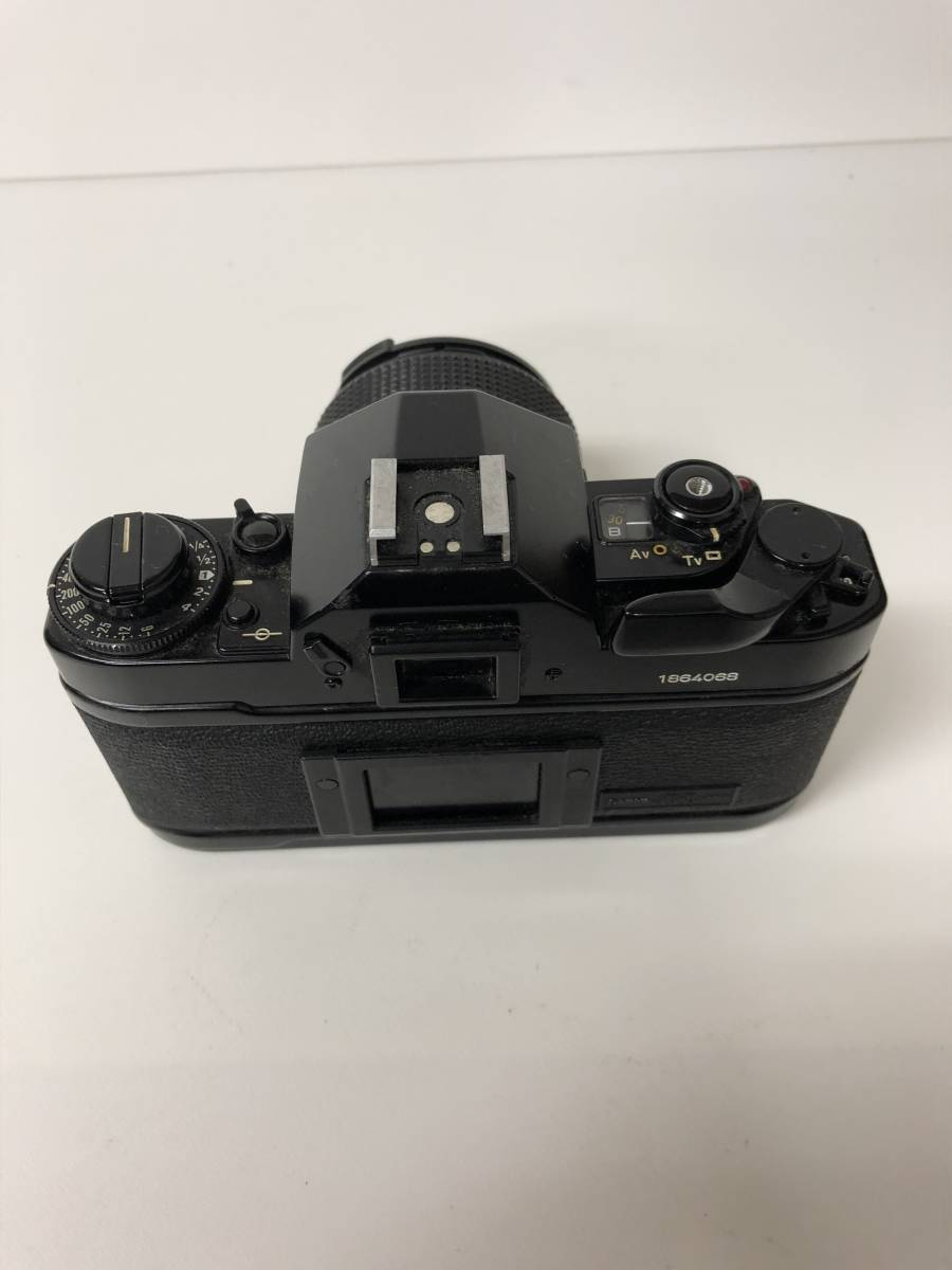 カメラ CANON A-1 ブラックボディ+FD 50mm F1.4 キャノン sf919_画像3