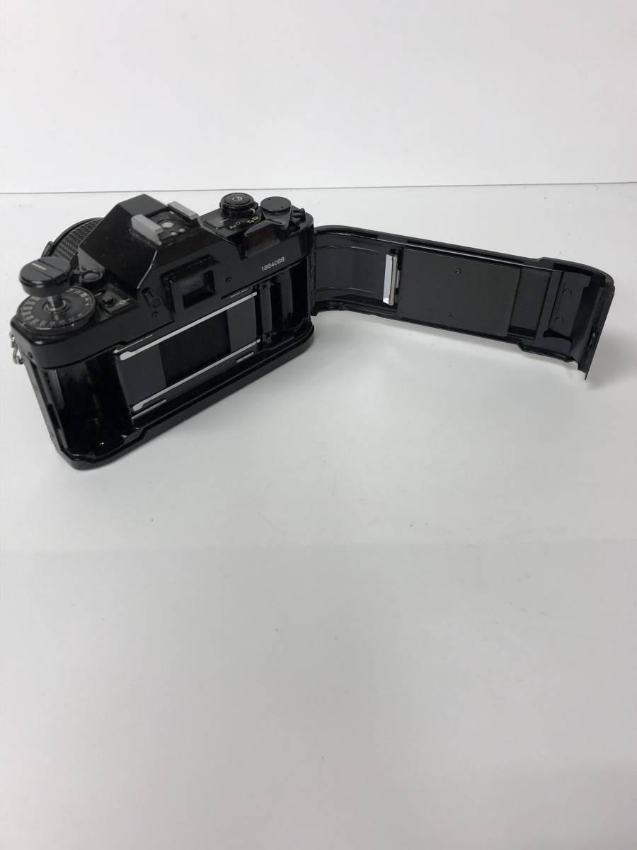 カメラ CANON A-1 ブラックボディ+FD 50mm F1.4 キャノン sf919_画像4