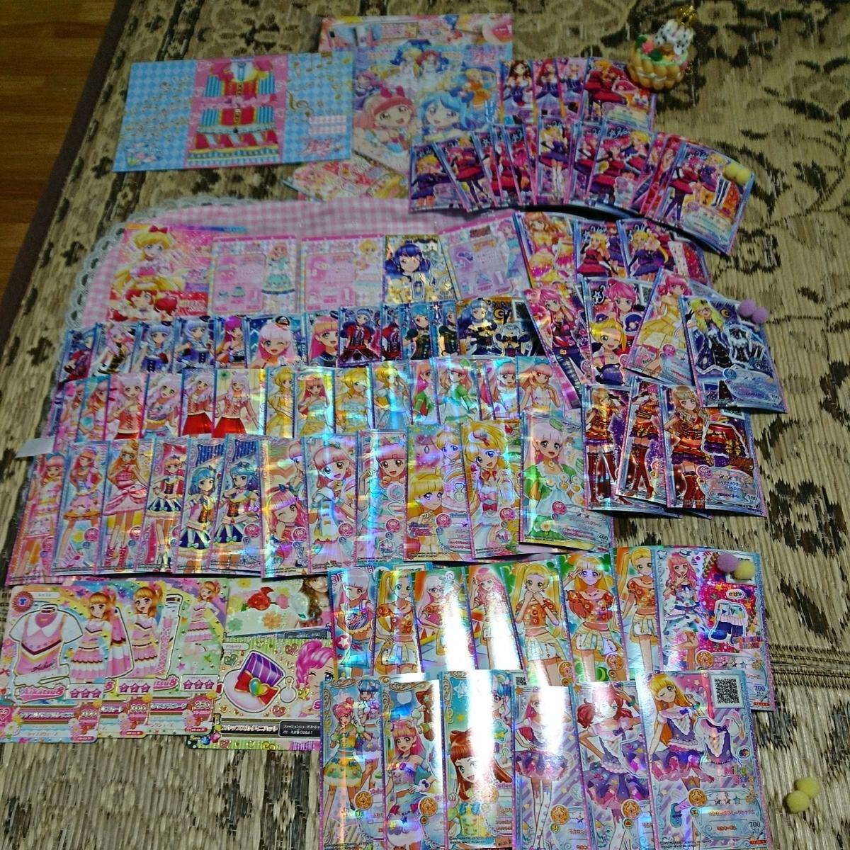 アイカツシリーズ・配布・カレン・ミライ・アイドルカード・ブライトムーンライト・90枚以上