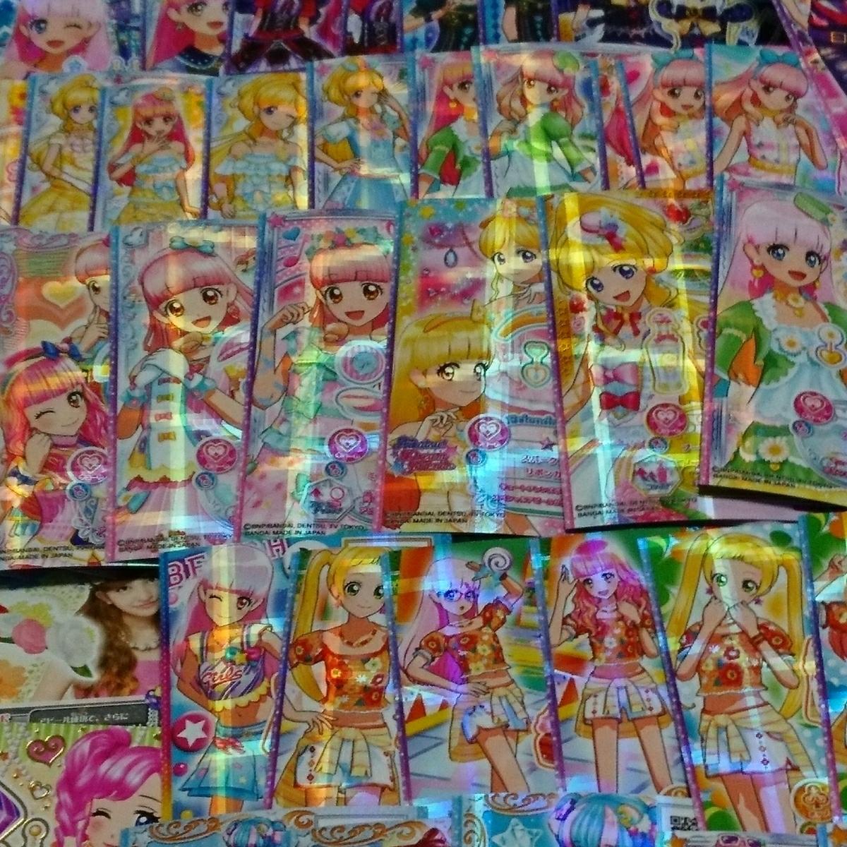 アイカツシリーズ・配布・カレン・ミライ・アイドルカード・ブライトムーンライト・90枚以上_画像5