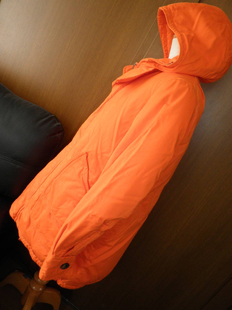 45rpm★オレンジのダウン・ハーフコート!<サイズ1>_画像3