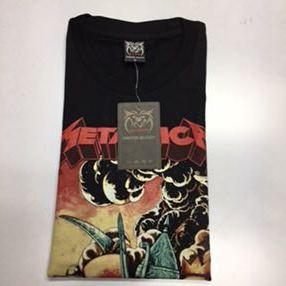 SR3B2♪ 両面プリントバンドデザイン半袖Tシャツ メタリカ 11 METALLICA Lサイズ