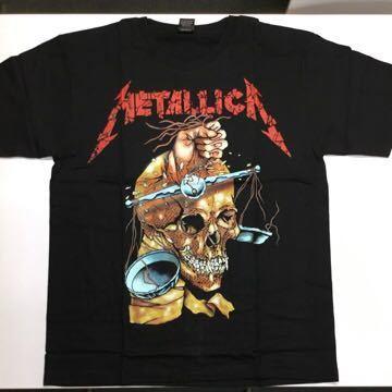両面プリントバンドデザイン半袖Tシャツ メタリカ METALLICA Lサイズ 13 SR3B2