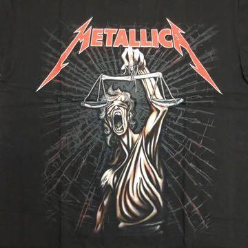 両面プリントバンドデザイン半袖Tシャツ メタリカ METALLICA Lサイズ 15 SR3B2