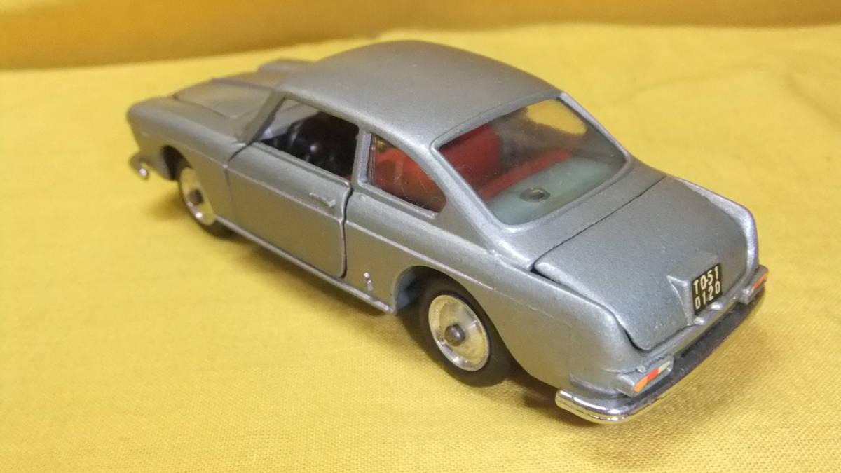 """美品 【外箱/カタログ/スキーセット付】 イタリア製・MERCURY No.32 Lancia Flavia Coupe・1962年製【""""MERCURY"""" 商標マーク刻印】 _画像4"""