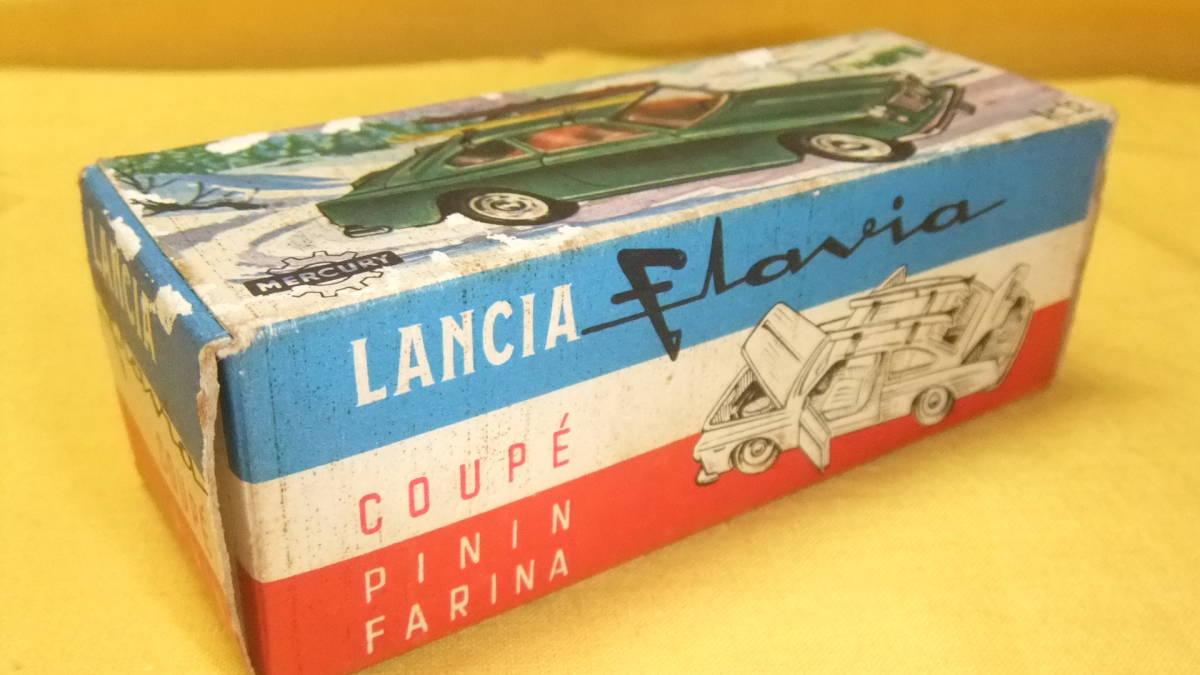 """美品 【外箱/カタログ/スキーセット付】 イタリア製・MERCURY No.32 Lancia Flavia Coupe・1962年製【""""MERCURY"""" 商標マーク刻印】 _画像9"""