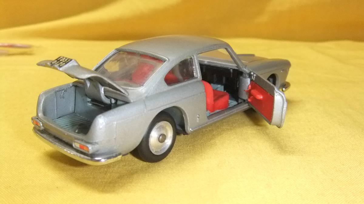 """美品 【外箱/カタログ/スキーセット付】 イタリア製・MERCURY No.32 Lancia Flavia Coupe・1962年製【""""MERCURY"""" 商標マーク刻印】 _画像10"""