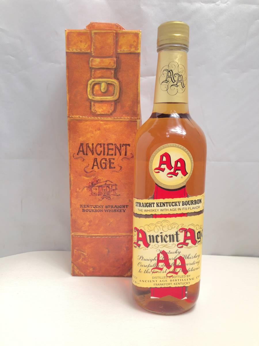 F067 エンシェントエイジ Ancient Age ウイスキー 750ml 未開栓 1円スタート