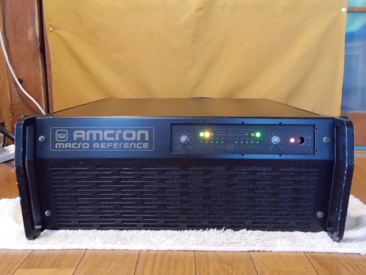 ◆◆◆定価67万 AMCRON MACRO REFERENCE クラウン アムクロン パワーアンプ ジャンク
