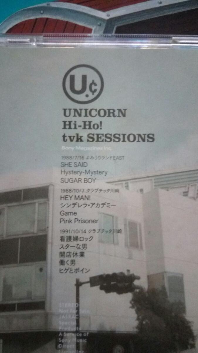 レア UNICORN 秘宝 Hi-Ho! 奥田民生 DVD付き ユニコーン 完全予約限定生産 UNICORN Hi-Ho! tvk SESSIONS DVD _画像2