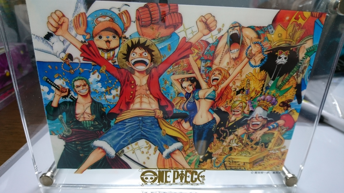 ONE PIECE 当選品 ガラスケース入り _画像4