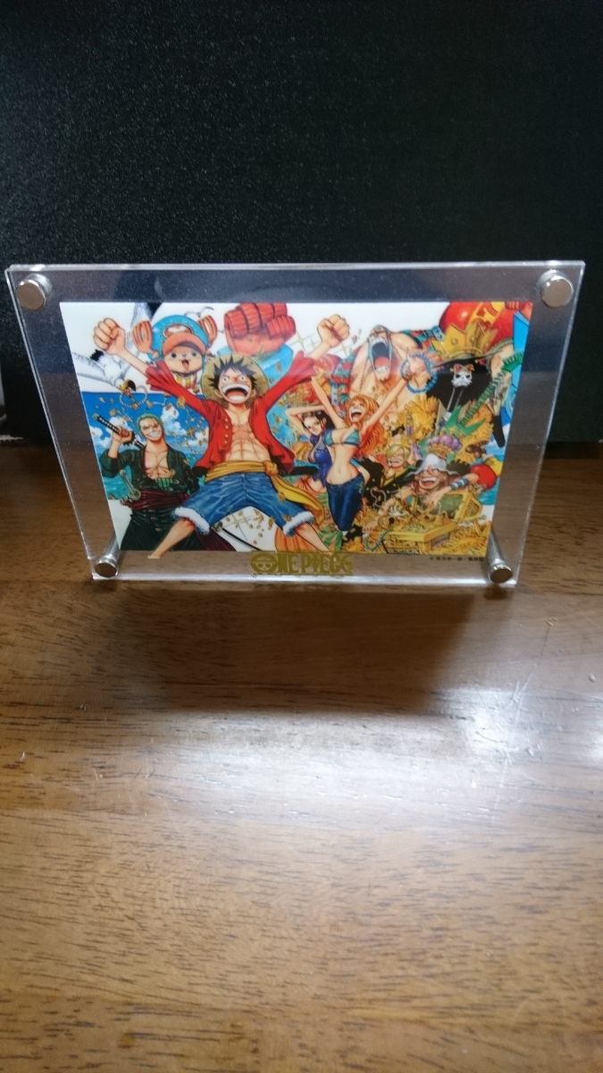 ONE PIECE 当選品 ガラスケース入り _画像2