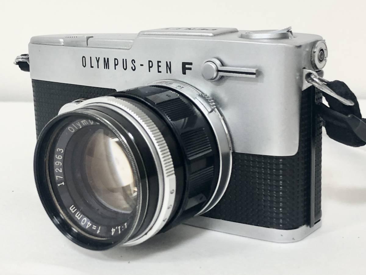 OLYMPUS/オリンパス PEN-FT 一眼レフ 40mm F1.4■4495