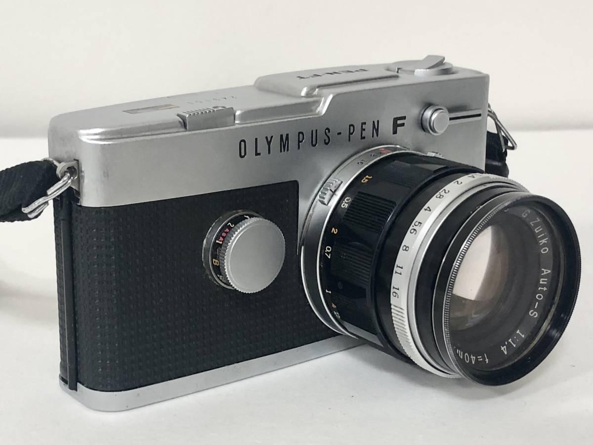 OLYMPUS/オリンパス PEN-FT 一眼レフ 40mm F1.4■4495_画像2