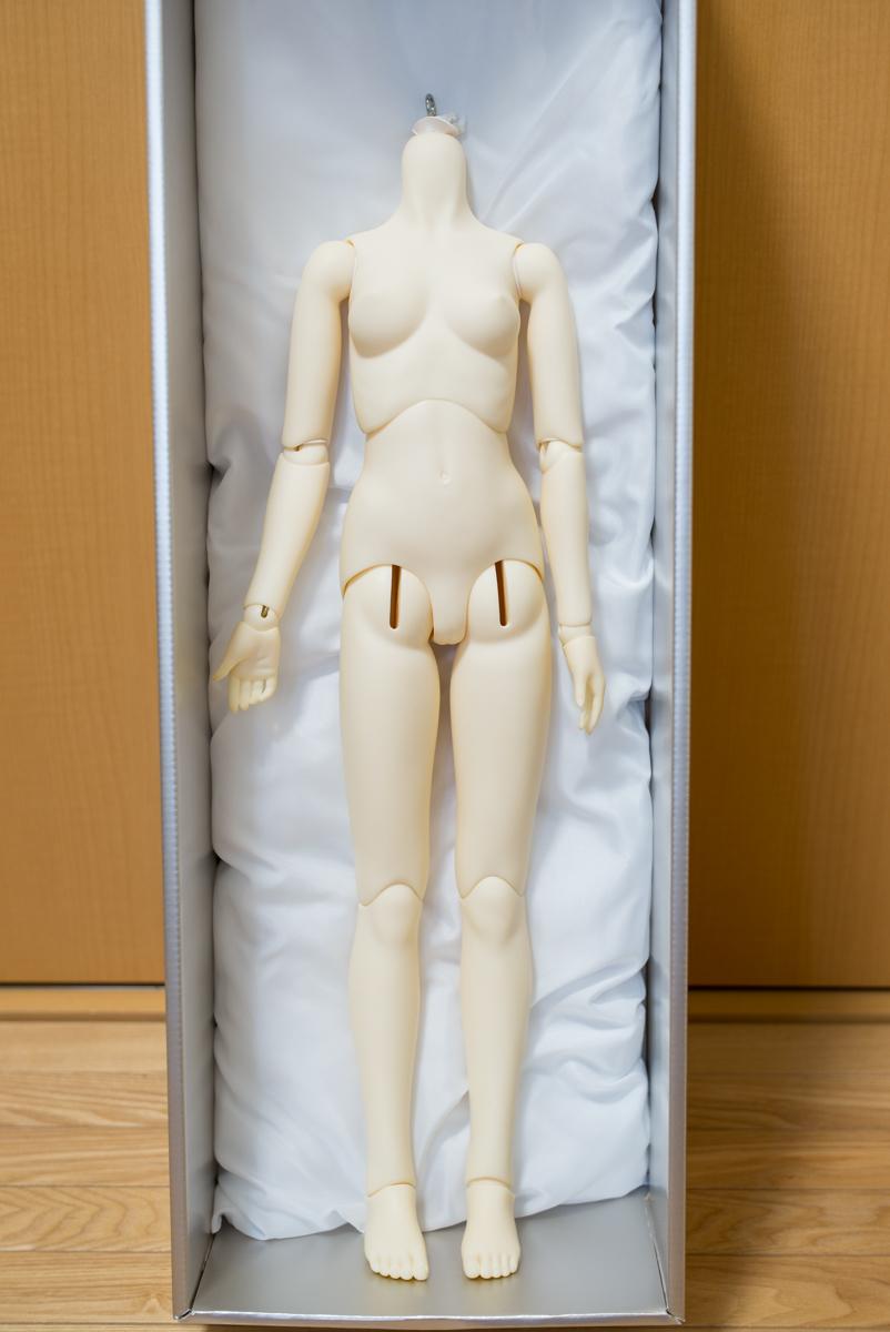 【中古】SD13少女L胸分割ボディ PSホワイト