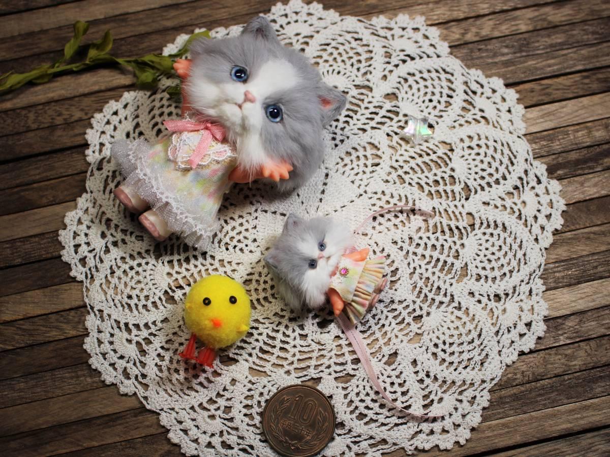 ★moloco dolls★キューピー猫ちゃん③小さい方_画像4