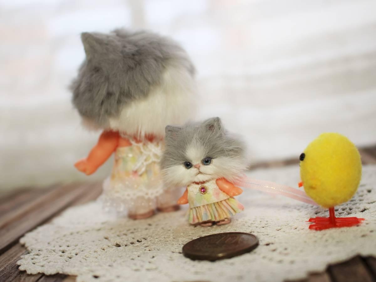 ★moloco dolls★キューピー猫ちゃん③小さい方