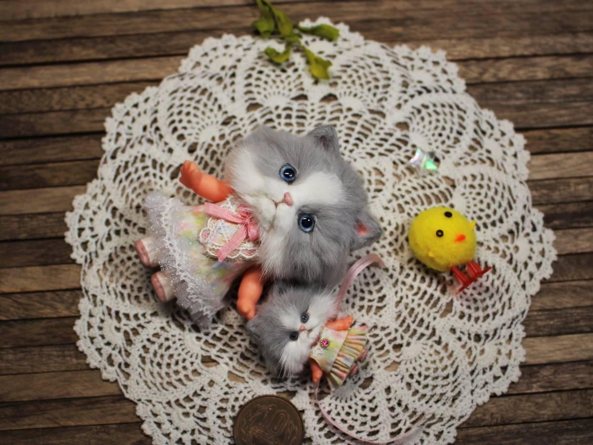 ★moloco dolls★キューピー猫ちゃん③小さい方_画像7
