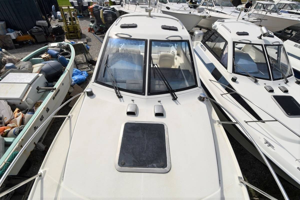 ☆★船屋.com 4st 130ps ホンダ船外機搭載☆★YAMAHA FR-24 オープンキャビン艇_画像7