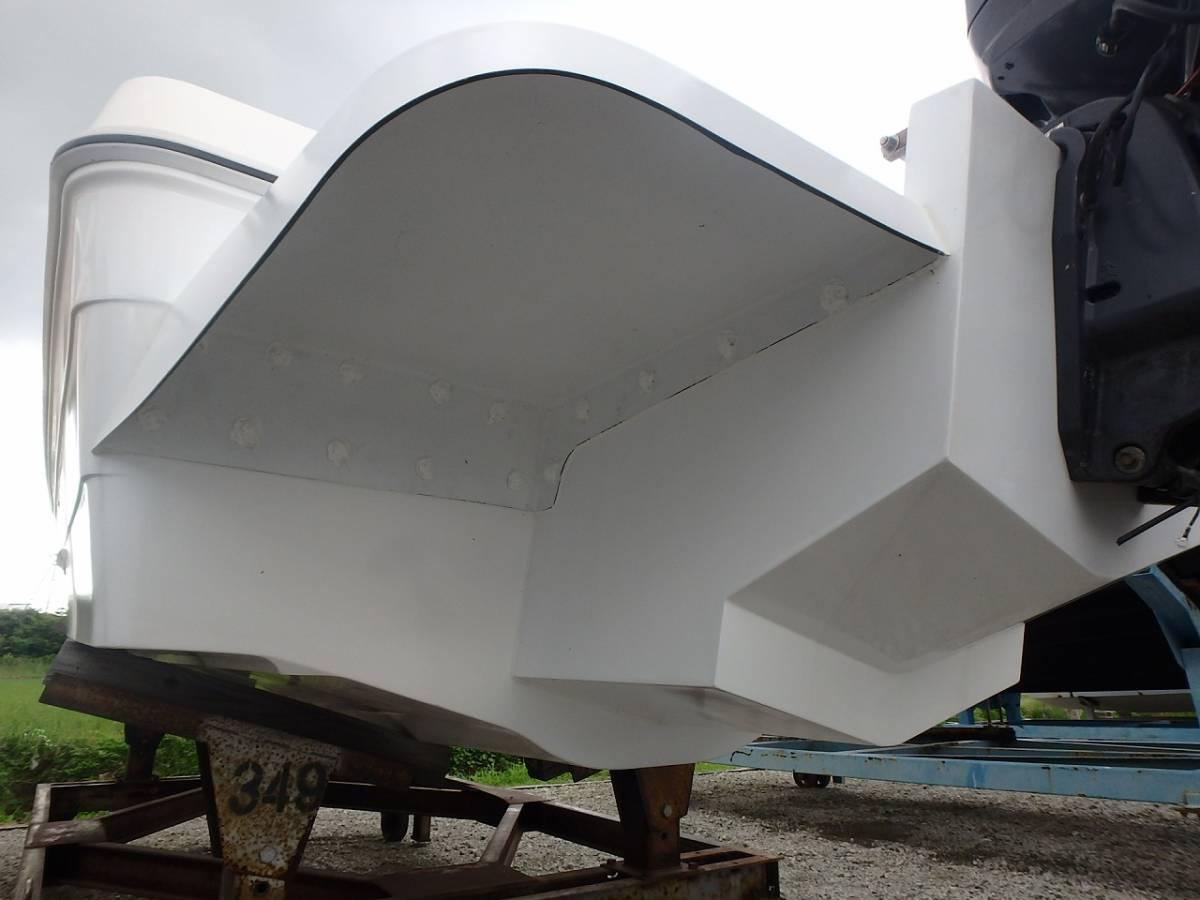 ☆★船屋.com 整備済みの良質艇☆★YAMAHA UF-23 高年式船外機換装艇!!_画像7