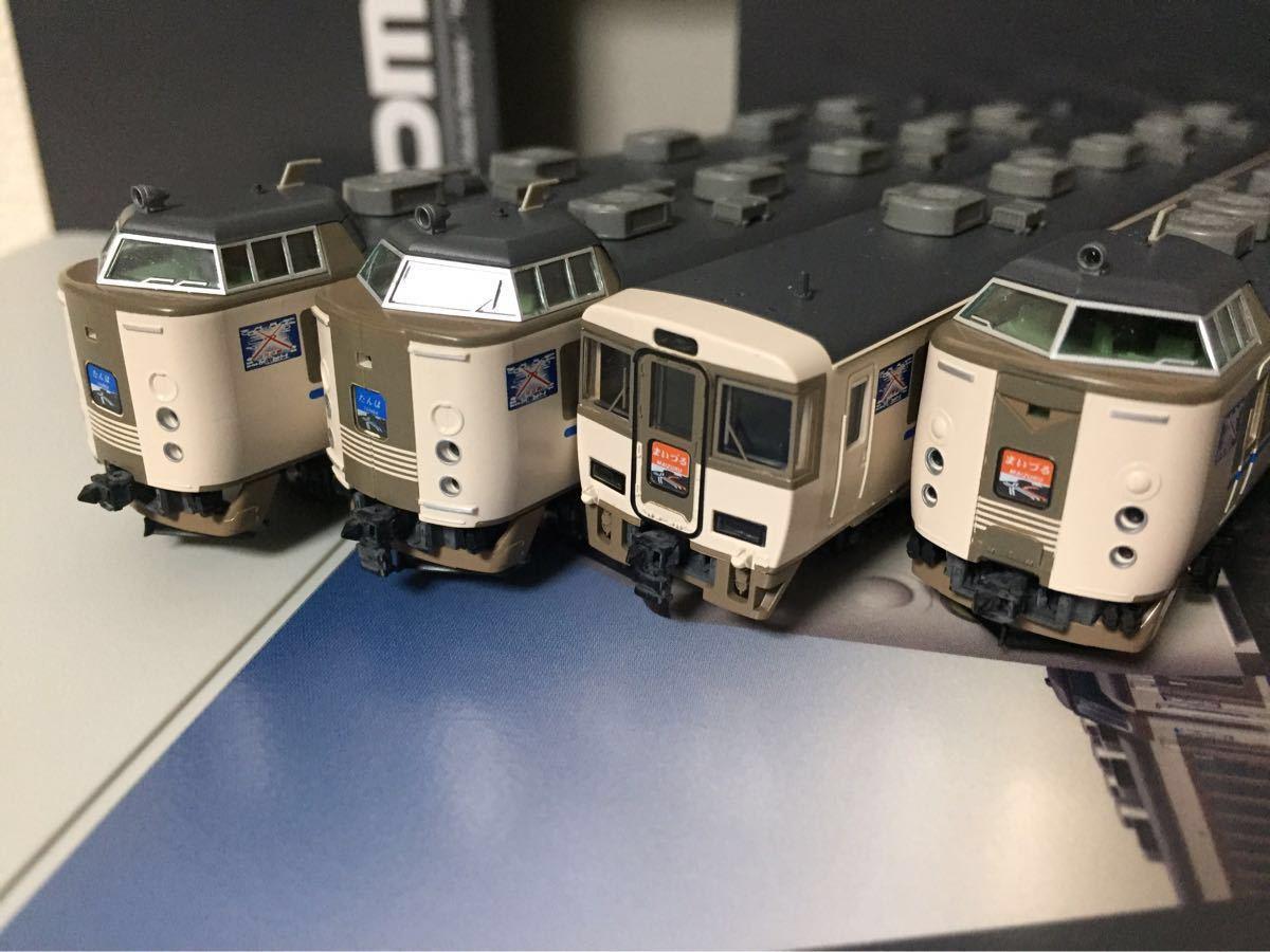 【未使用美品】TOMIX限定品92975 183系特急列車 福知山電車区 クハ183-801 たんば、まいづる7両セット