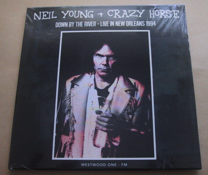 Neil Young + Crazy Horse / Down By The River - Live In New Orleans 1994 CD ニールヤング_画像1