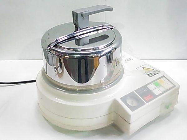 ヘレウス クルツァー パラマートプラクティックELT & パラジェット 専用フラスコ2種各1個付 歯科技工 動作良好_画像2
