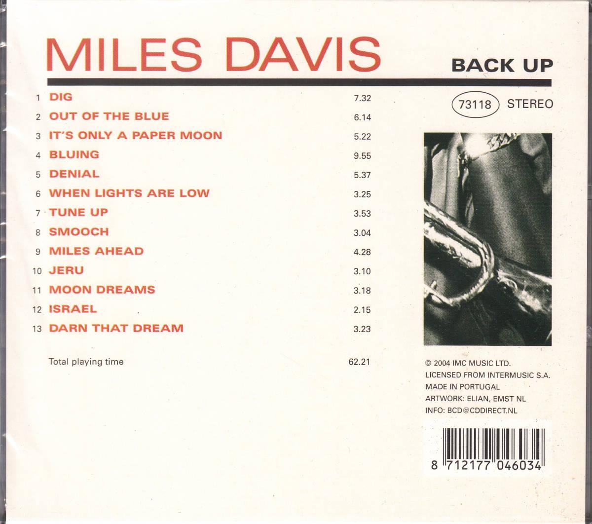 【新品・即決CD】マイルス・デイヴィス/マイルス・アヘッド 全13曲_画像2