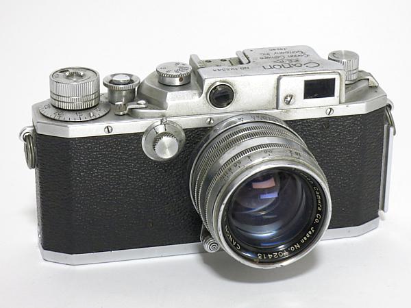 ☆キヤノン 4Sb 型 50mm/1.8 付、EP表記 /難有・現状