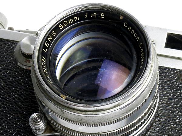 ☆キヤノン 4Sb 型 50mm/1.8 付、EP表記 /難有・現状_画像3