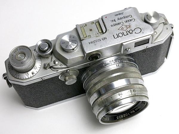 ☆キヤノン 4Sb 型 50mm/1.8 付、EP表記 /難有・現状_画像4