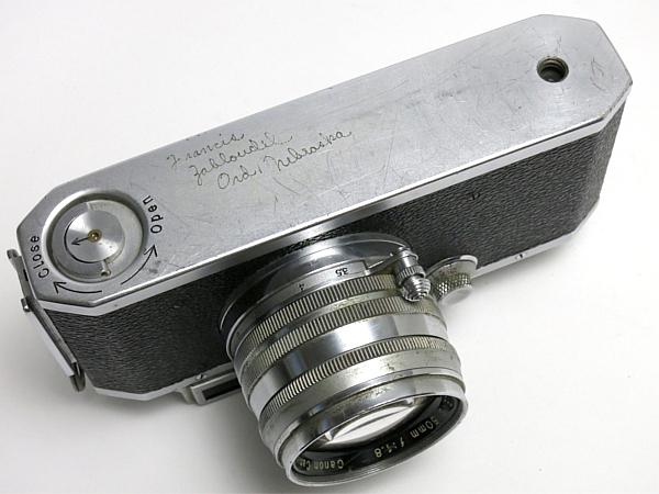 ☆キヤノン 4Sb 型 50mm/1.8 付、EP表記 /難有・現状_画像5