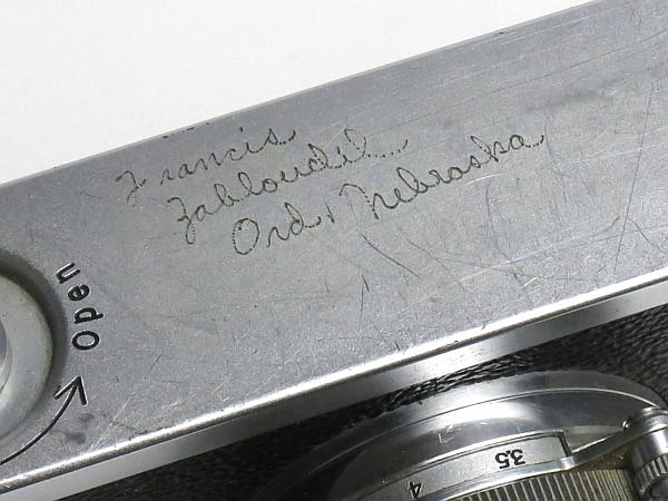 ☆キヤノン 4Sb 型 50mm/1.8 付、EP表記 /難有・現状_画像6