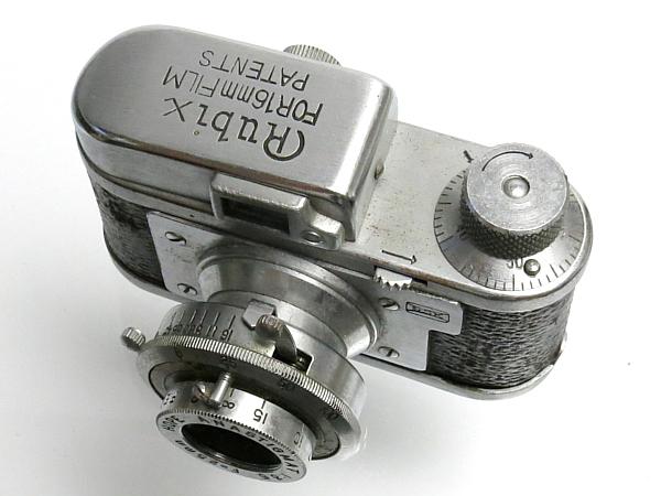 ☆ルビックス16 後期型 クローム、MIOJ /国産・豆カメラ_画像4