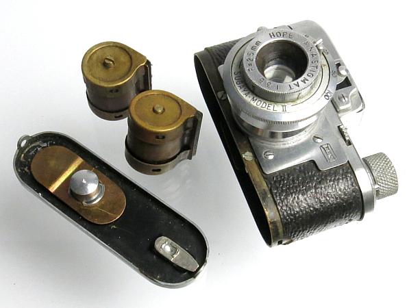 ☆ルビックス16 後期型 クローム、MIOJ /国産・豆カメラ_画像5
