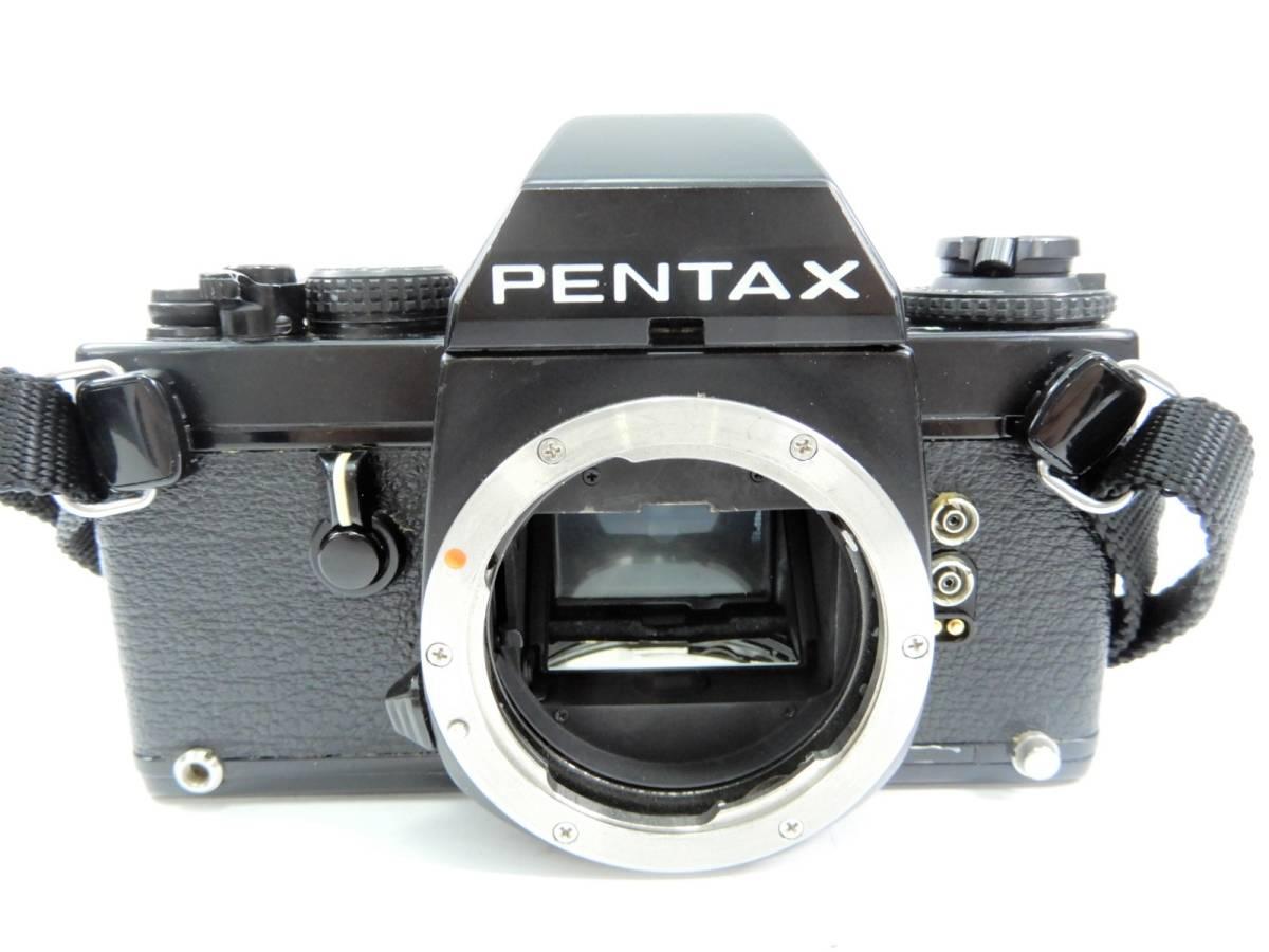 PENTAX ペンタックス LX ファインダー FB-1 アイピース FC-1 ストラップ 取扱説明書 キャップ 付き シャッター確認済み カメラ ボディ_画像2