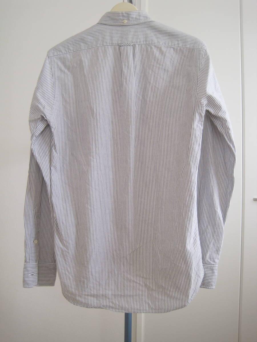 アメリカ製 ギャンバートカスタムシャツGambert Custom Shirt×Blue Workブルーワーク ボタンダウンシャツ S_画像2