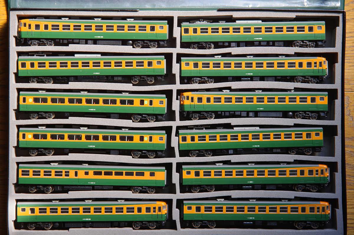 TOMIXト ミックス 92215/92216/2978 JR165系急行電車 アルプス・こまがね 基本・増結11両セット+165系サハ