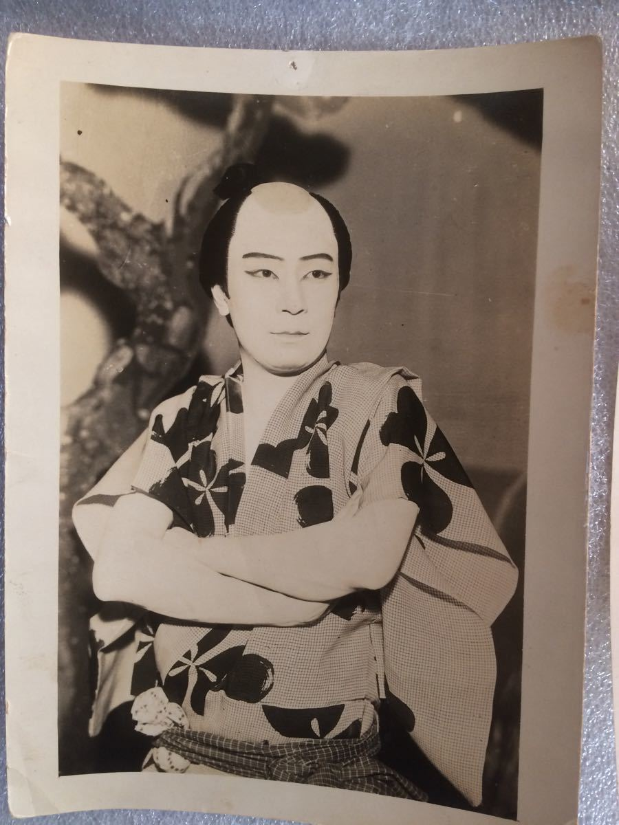 古写真1 昭和レトロ 映画スター 銀幕スター 古いブロマイド 6枚_画像5