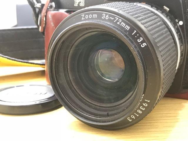 ★カメラまとめ★ Nikon F3 Zoom 1:3.5 minolta HI-MATIC Polaroid Pocket Canon EOS 10QD 300EZ FUJICA AF 1:2.8 フィルムカメラ ストロボ_画像5