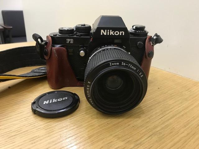 ★カメラまとめ★ Nikon F3 Zoom 1:3.5 minolta HI-MATIC Polaroid Pocket Canon EOS 10QD 300EZ FUJICA AF 1:2.8 フィルムカメラ ストロボ_画像4