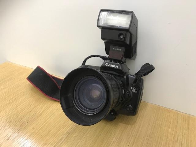 ★カメラまとめ★ Nikon F3 Zoom 1:3.5 minolta HI-MATIC Polaroid Pocket Canon EOS 10QD 300EZ FUJICA AF 1:2.8 フィルムカメラ ストロボ_画像6