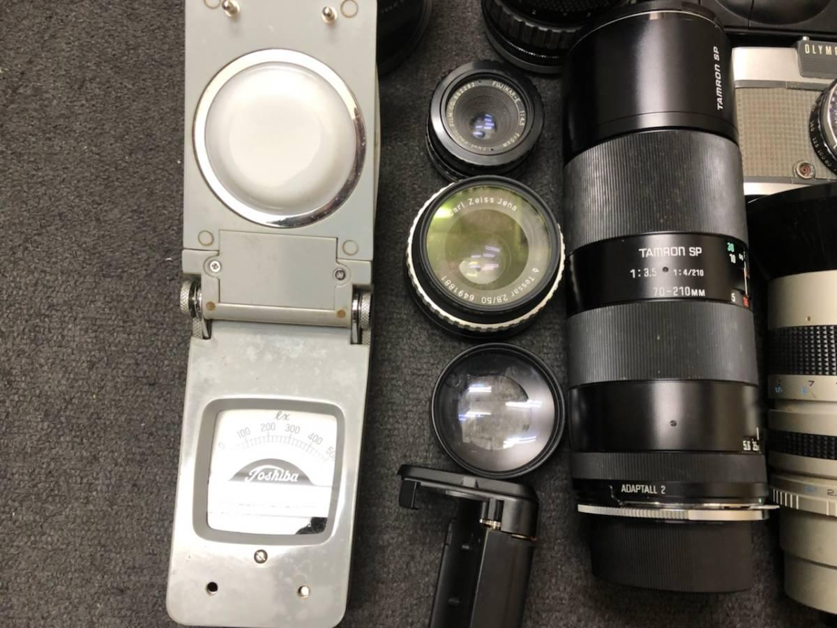 カメラ レンズ おまとめ カメラ5点 レンズ4点 OLYMPUS KONICA PEN C35 _画像3