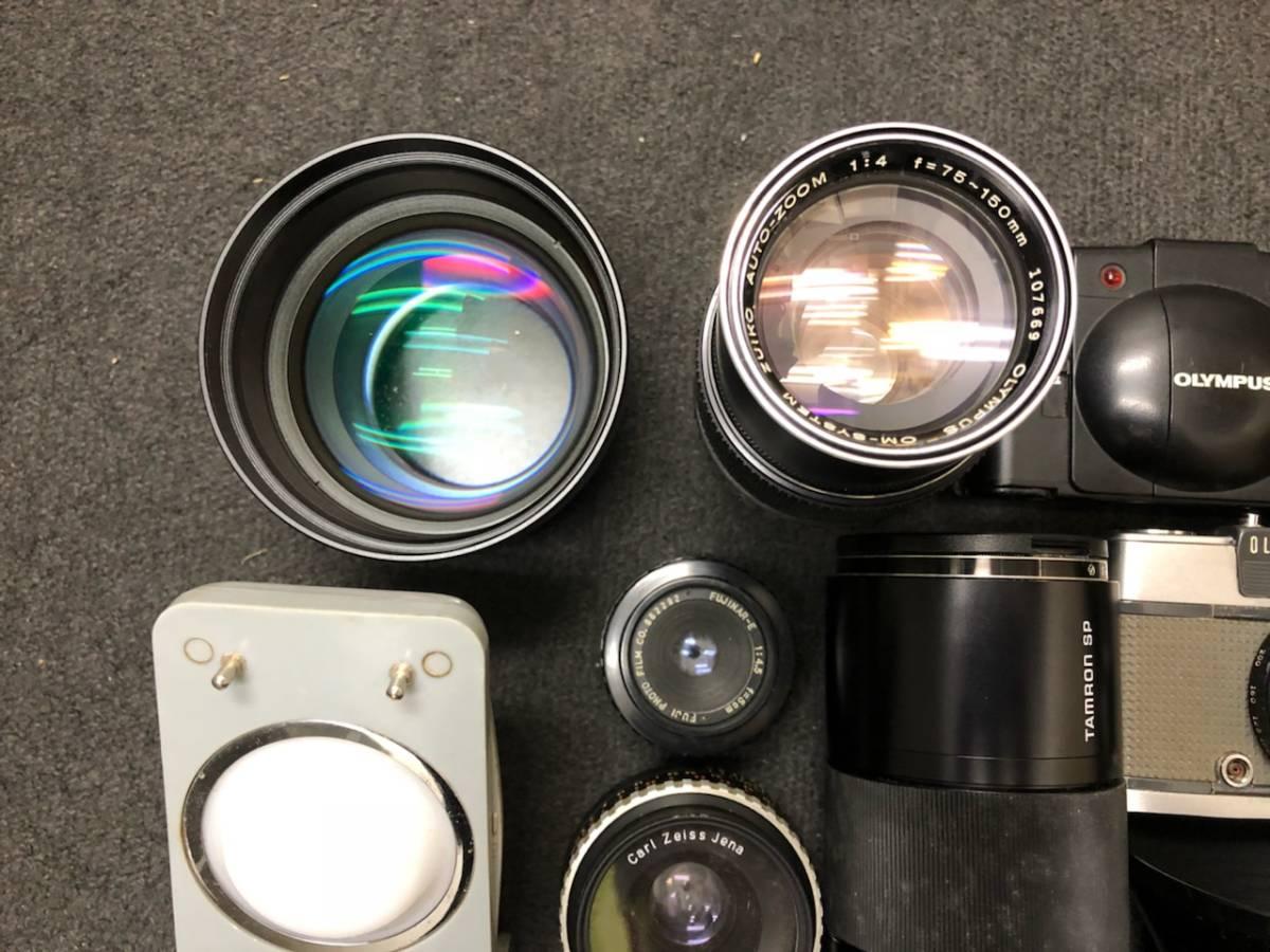 カメラ レンズ おまとめ カメラ5点 レンズ4点 OLYMPUS KONICA PEN C35 _画像4