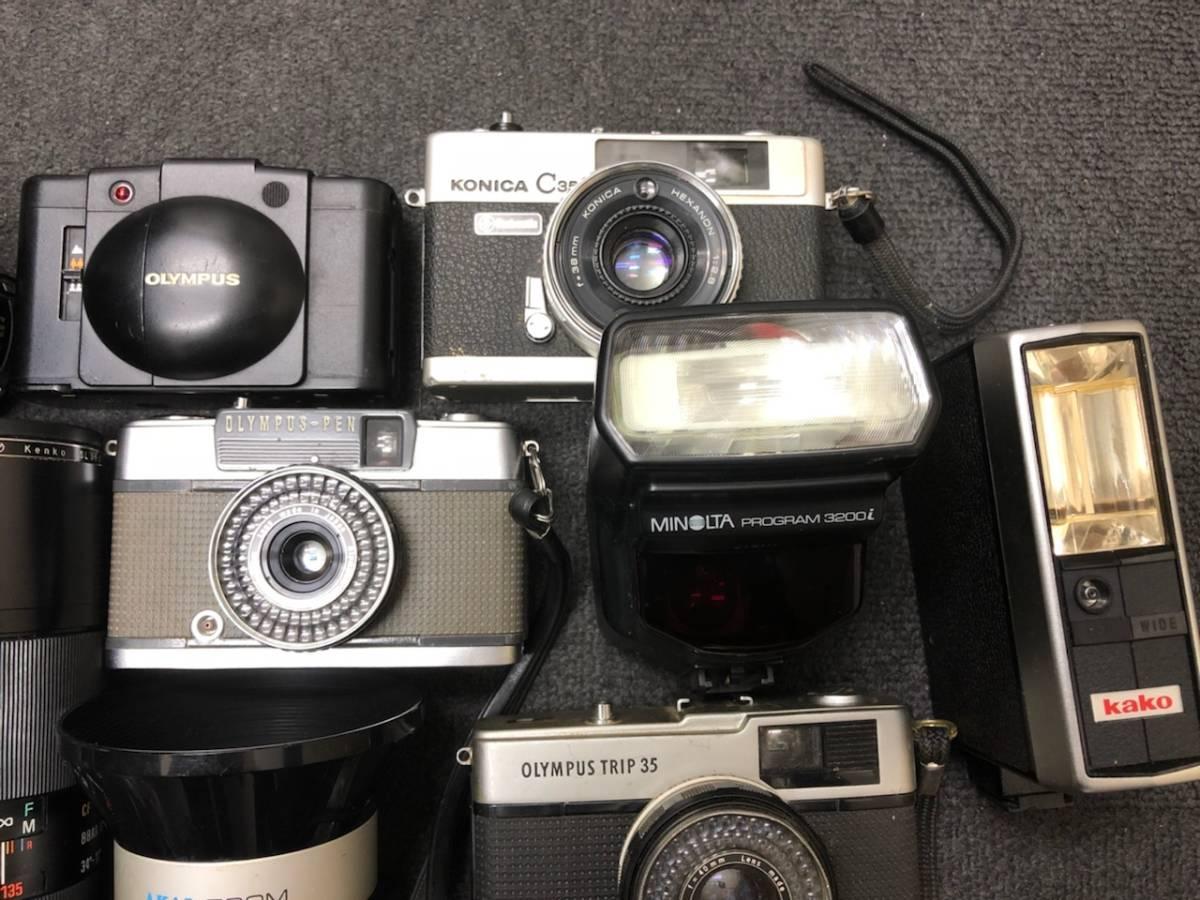 カメラ レンズ おまとめ カメラ5点 レンズ4点 OLYMPUS KONICA PEN C35 _画像5