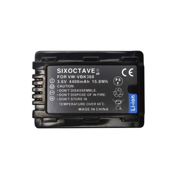 【純正充電器で充電可能】Panasonic パナソニックVW-VBK360-K 互換バッテリー2個HDC-TM70/HDC-TM60/HDC-HS60/HDC-TM35/HDC-TM90_画像3