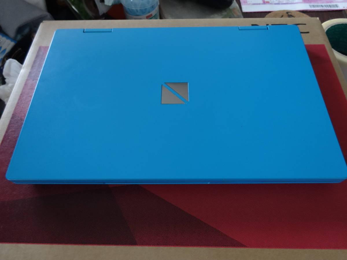 中古美品NEC LAVIE NM550 i5,4G,SSD256G 11.6液晶ブルー